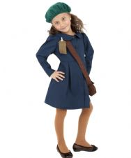 World War ll Evacuee Schoolgirl